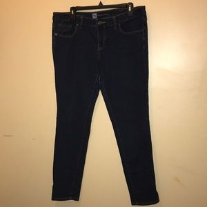 Mossimo Women's Ankle skinny denim jeans size 12